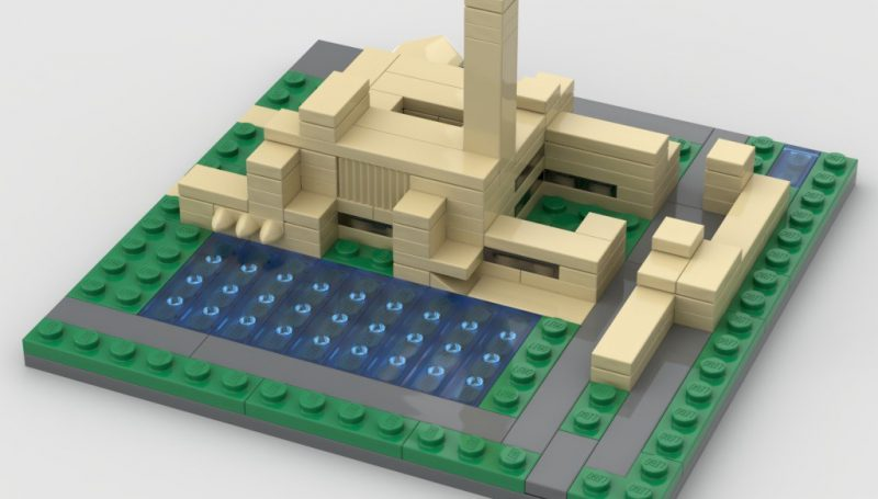Townhall in LEGO!
