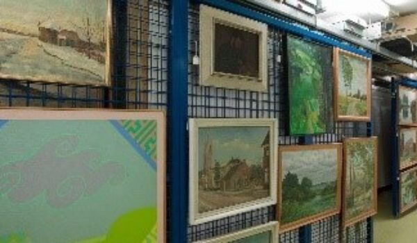 'Hilversum germinates' exposition cultural-historic collection of Hilversum
