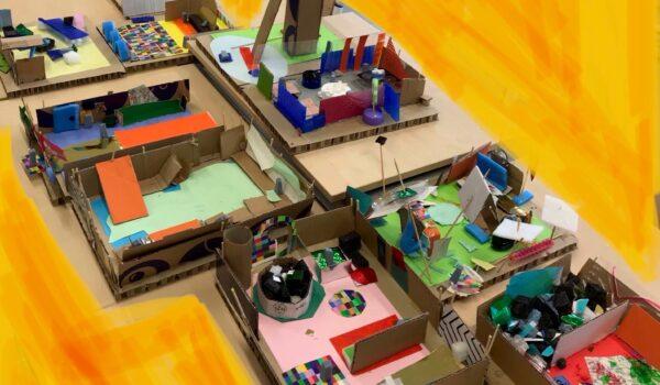 Architectuur in jouw wijk; educatie-project voor basisscholen