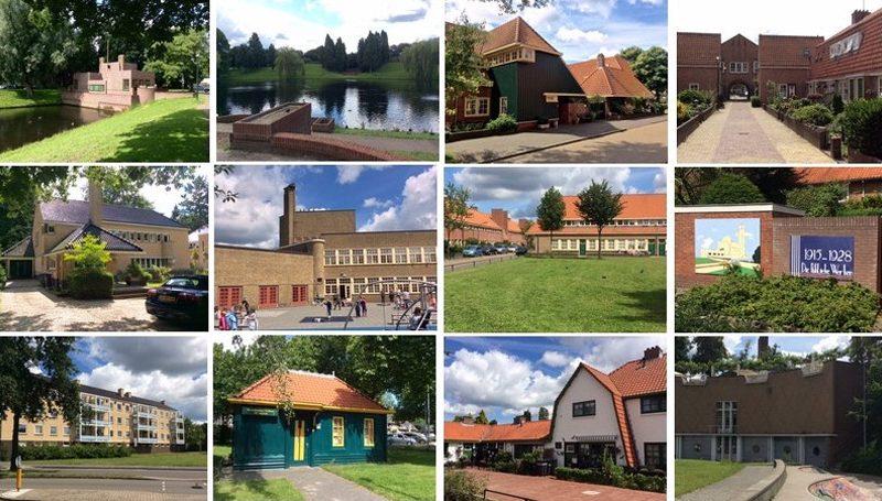 Architecture excursion in Hilversum