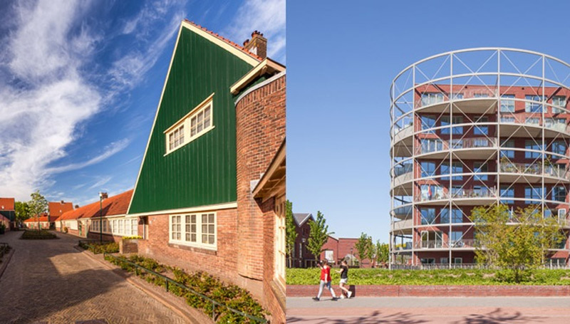 Dudok, industrial heritage and contemporary living and working areas