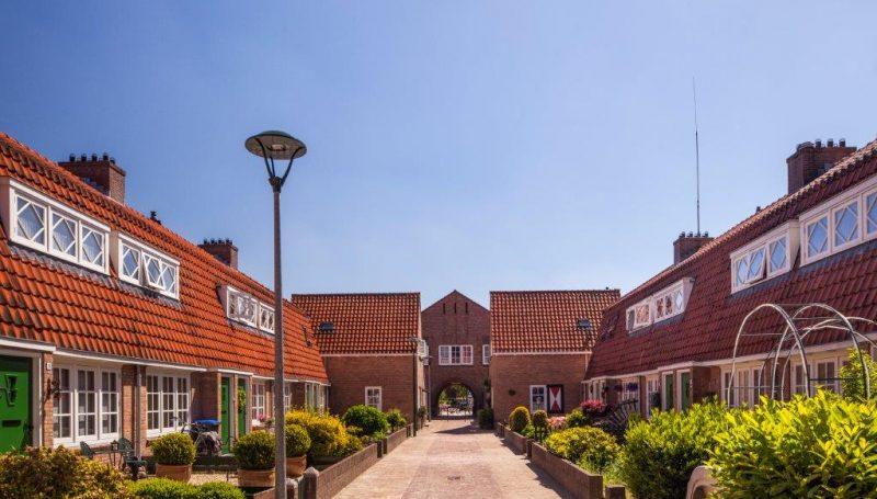 Bloemenbuurt in Hilversum