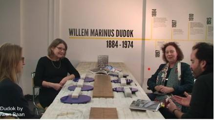 Tafelgesprek met de makers van het boek Dudok by Iwan Baan