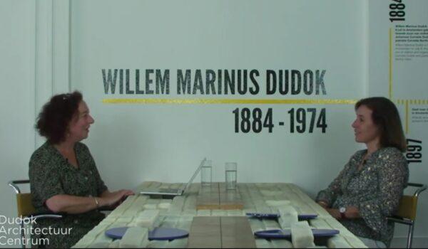 Aan Tafel bij Dudok met architect Sophie Keulemans  en landschapsontwerper Wim Voogt